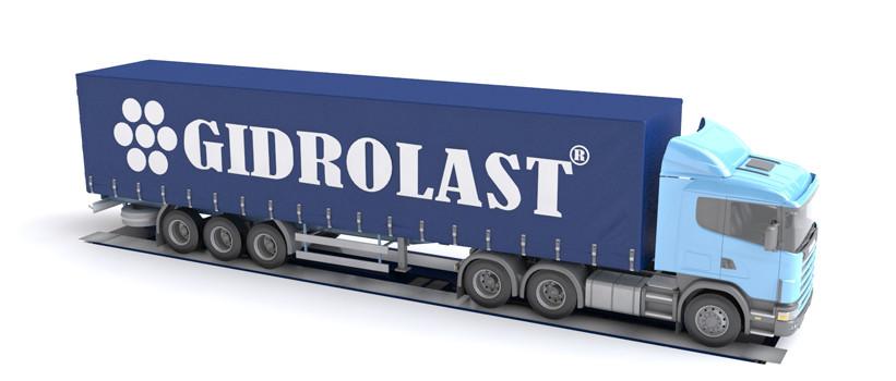Гидравлическая грузовая платформа для грузового автотранспорта